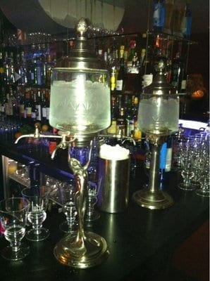 absinthe fountain at tag