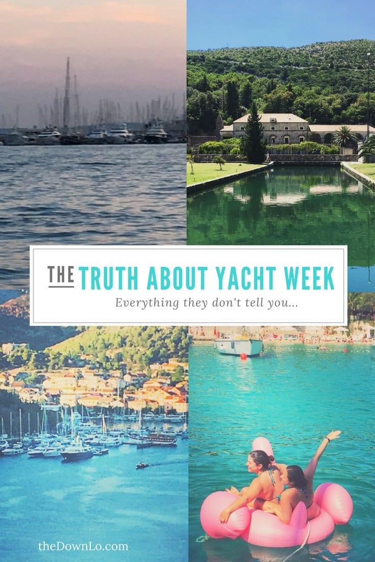 Yacht Week in Croatia is a glamorous way to cruise the Baltic, but is the cost worth it? Is it a party scene the whole time? What's the sailing like? Will I be bored on the boat? Sail boats, water, summer fun, beautiful people. I'll dish on that, life on board, a suggested packing list, themes, and a travel review and pictures of this dream trip for future vacation inspiration. Girls trip, anyone? #yachtweek #sailweek #travel #trip #croatia