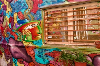 A Street Art Tour of Santiago (and a Few Other Cities in South America)