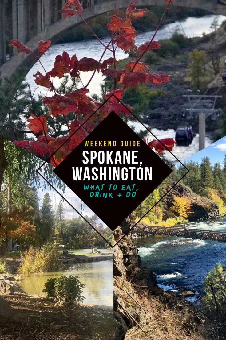 Spokane, Washington is a city you don't hear much about but has so much to offer. If you're looking for things to do, see and eat in this West Coast gem, here's everything from epic eats to best hikes at Bowl and Pitcher to Skyline Park downtown and Manitou Park. #travel #usa #america #weekendgetaway #trip #washington