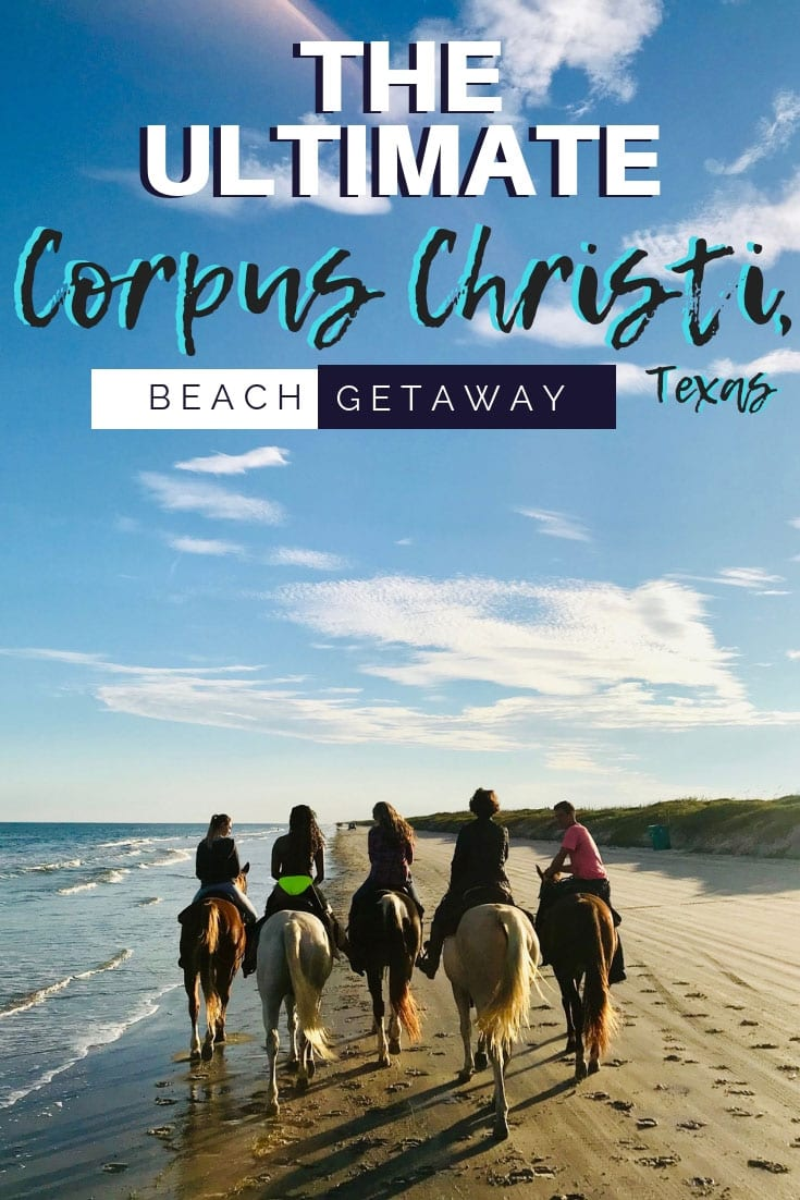 If you've ever dreamed of horseback riding on the beach, kiteboarding, or windsurfing, Corpus Christi is the #beach getaway of your dreams. Who would've thought #Texas had such epic beaches? It's an easy day trip and weekend getaway from Padre Island, Houston, or San Antonio. We'll share restaurants and attractions for a perfect beach vacation. #usa #travel #america