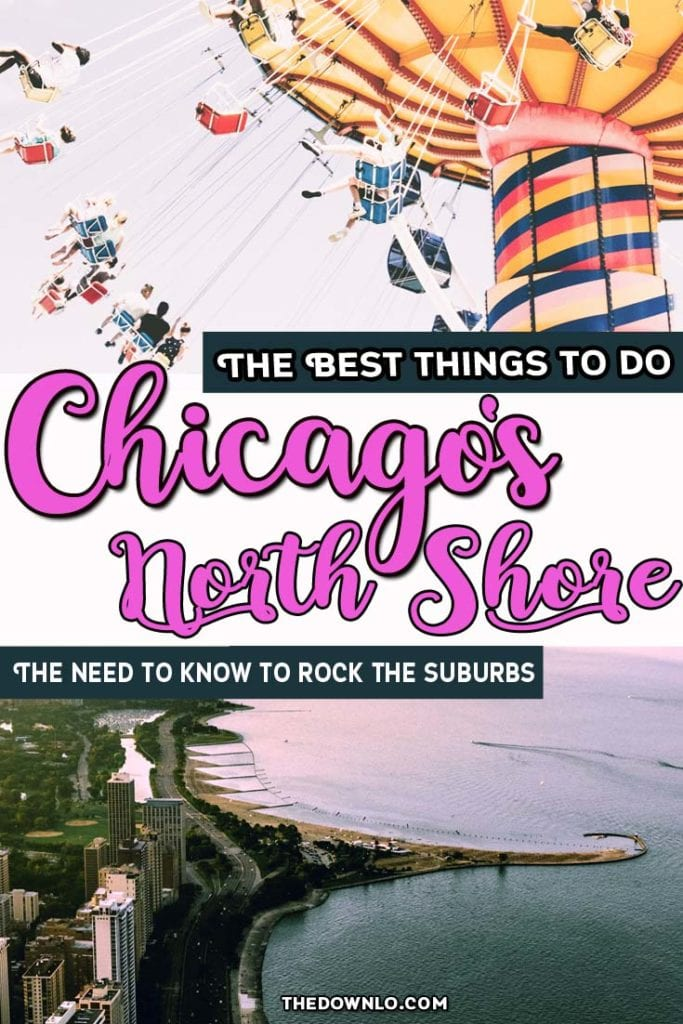 Looking for the best things to do in North Shore Chicago? Based on the movie Mean Girls, Breakfast Club and Home Alone, the north Chicago suburbs don't have to be a drag! Read on for the best restaurants in the North shore and things to do and see from the Bahai temple to the Botanic Gardens. #chicago #usa