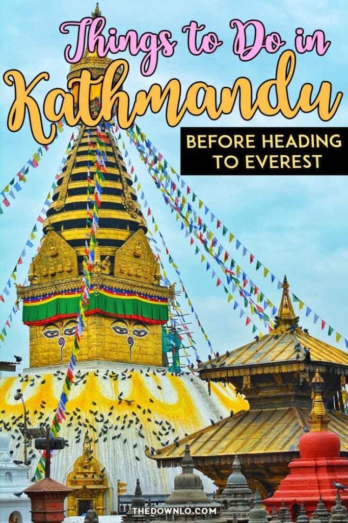 The best things to do in Kathmandu, Nepal before heading to the bucket list treks of Mount Everest Base Camp or the Annapurna Circuit. Adventure travel and photography tips for temples, monkeys, and local people in this Asian capital. #travel #bucketlist #hiking #hikes #treks #trek #nepal #kathmandu