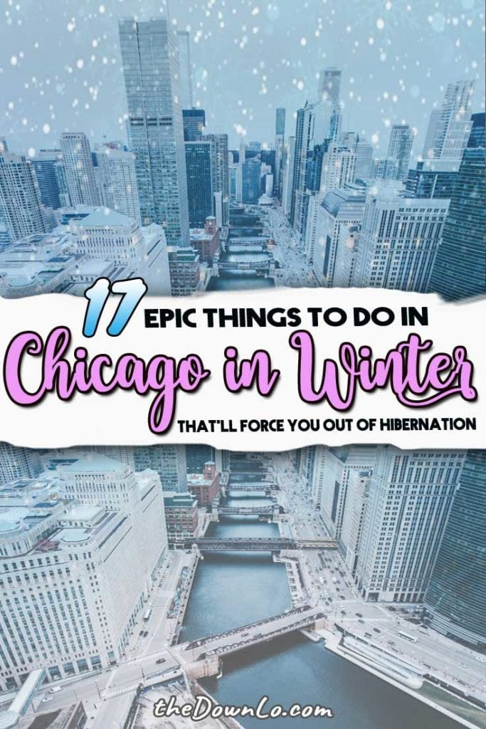 If you're looking for things to do in Chicago in winter, we have plenty of cold weather fun in the Windy City from what to do in Chicago during the holidays to beautiful places to ice skate, shop at Water Tower, and photography for Lake Michigan. Put it on your bucket lists -- the cold never bothered me anyway! #chicago #winter #travel #trips #holidays