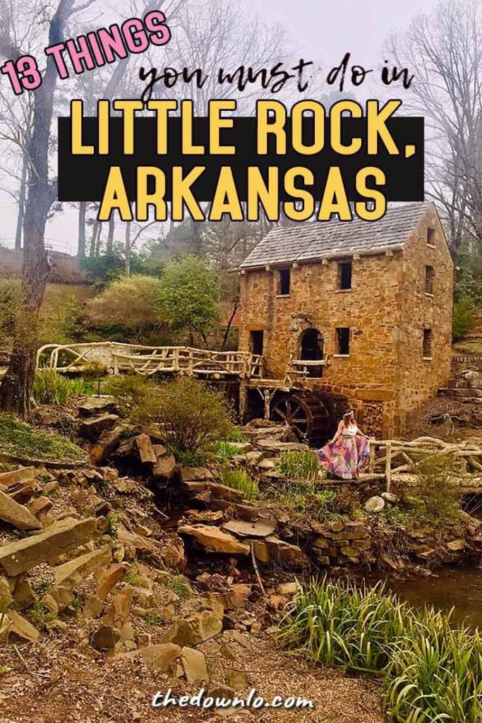 Looking for things to do in Little Rock, Arkansas? Put these restaurants, photography spots, and beautiful places on your bucket lists. You don't want to miss the River Market, downtown skyline, historical places, and nature hiking. It's Southern Living at it's finest and a awesome road trips with kids. #littlerock #arkansas #travel