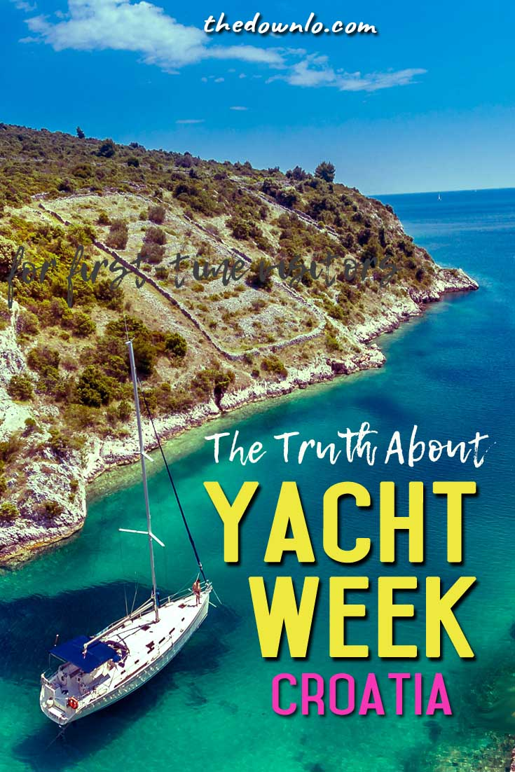 Sailboats, summer fun, beautiful people. Yacht Week in Croatia is a glamorous way to cruise the Baltic, but is the cost worth it? Is it a party scene the whole time? What's the sailing like? Will I be bored on the boat? I'll dish on that, a suggested packing list, and more on a travel review of this dream trip. #yachtweek #sailweek #travel #trip