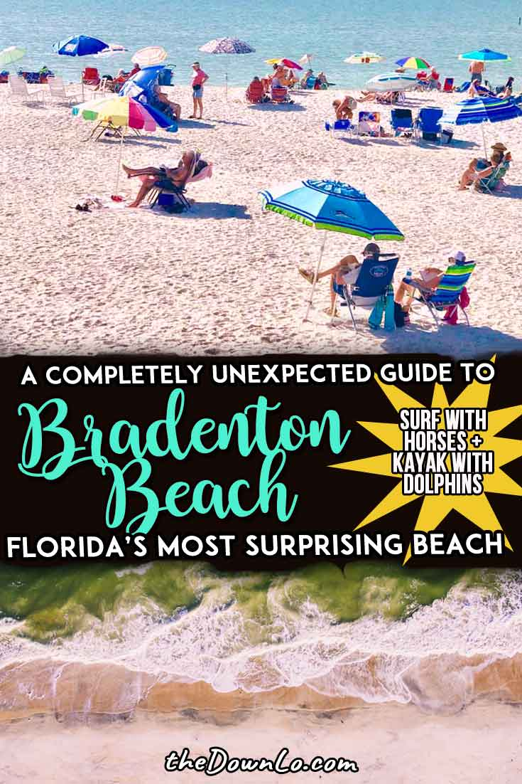 Bradenton Beach and Anna Maria Island are a touch of old Florida where nature prevails and crazy adventure activities await. Ever tried horse surfing or kayaking with dolphins? Read on for things to do in Bradenton to work up a sweat, indulge and have the trip of your life. #vacation #fl #florida #usa #winter
