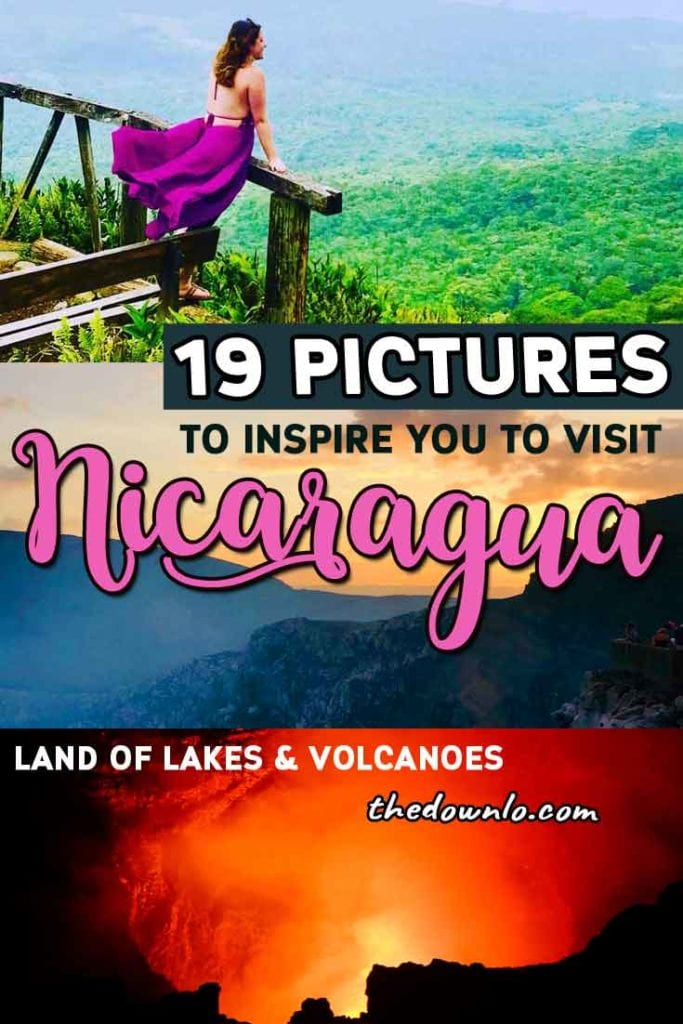 Looking for things to do in Nicaragua? Enjoy these fun bucket list travel activities with trip ideas to the islands, beaches, cities, and volcanoes. Included is what to do in beautiful adventure destinations like Granada, Leon, sand boarding in Cerro Negro, El Lago de Apoyo, culture, and photography spots. #nicaragua #travel #centralamerica #adventure