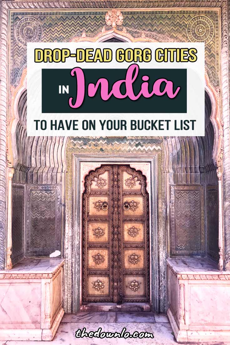 Beautiful India: bucket list destinations and amazing photos to inspire your trip to the Asian country of culture, art, and history. The best places to go for Instagram photographs and nature. Ideas and pictures for Goa, the Taj Mahal, Hamapi, Jaipur, Udaipur, Kerala, and the Himalayas from the beach to the backwaters and mountains. #travel #india #photography