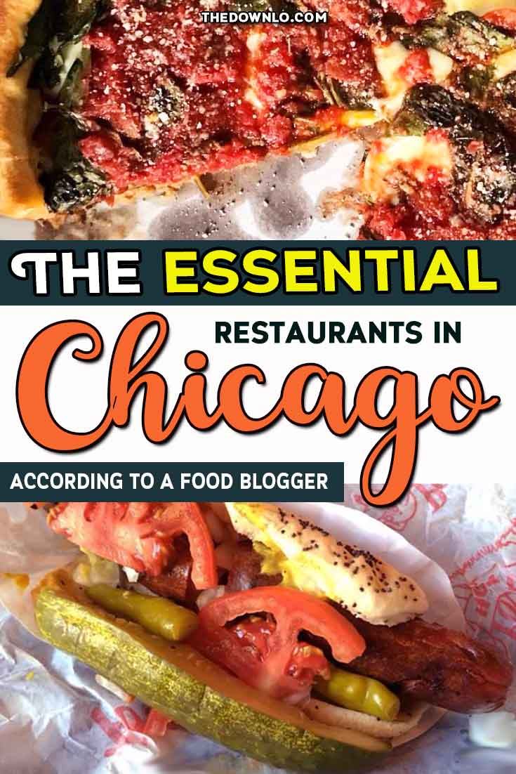 The Chicago food scene is one of the best in the country with new restaurants opening every day. If you're looking for things to do in the Windy City, eat your way around the neighborhoods at these famous and iconic spots for breakfast, lunch and dinner. Pictures and photography to inspire foodie travel for the best cheap eats from pizza and hot dogs to  splurge Instagram meals like Alinea. Tour the city with your stomach's bucket list.