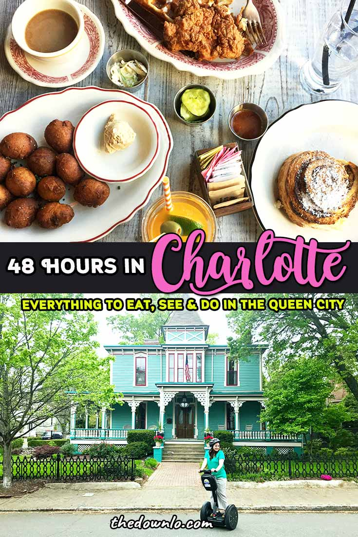 Things to do in Charlotte, NC. North Carolina's capital the Queen City has plenty to offer travelers from the best restaurants to major attractions like Nascar, the Raptor Center, and food tours. What to do, where to eat and everything to see for 48 hours or a long weekend. #charlotte #nc #northcarolina
