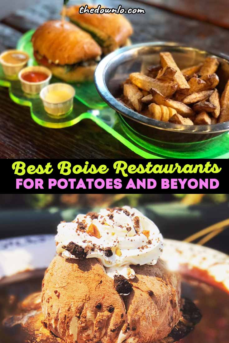 The ultimate Boise food guide. The best restaurants and foodie things to do in Boise, Idaho for fabulous eats beyond the potato. Desserts, dinners and coffee shops for all neighborhoods, budgets and travel styles. Enjoy surprising cuisine downtown and food photography for Instagram. Pictures to inspire good eats. #dining #food #culinary #eat #idaho #boise