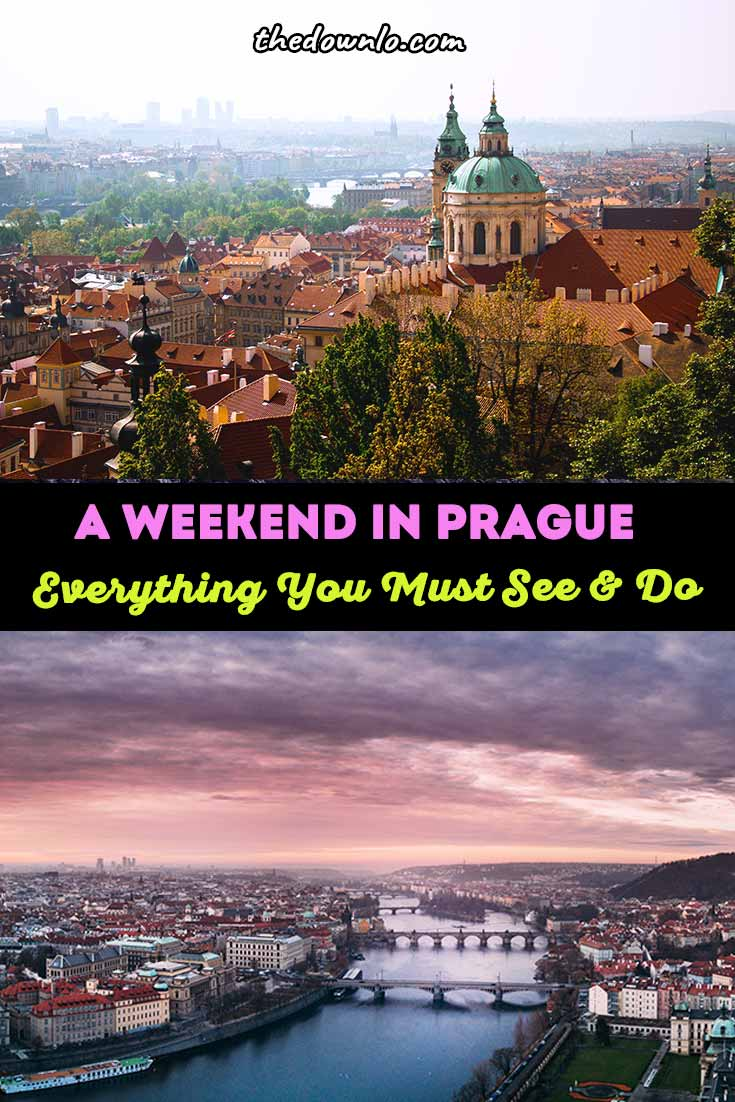 The perfect weekend in Prague means seeing the major things to do but most of the free Czech Republic attractions just mean getting wanderfully lost in Old Town and exploring a beautiful Europe capital. Visit the Lennon Wall, Charles Bridge, Prague Castle, and Astrological clock, but then make your own walking tour to find sensual food, markets, and breweries. #europe #prague #travel
